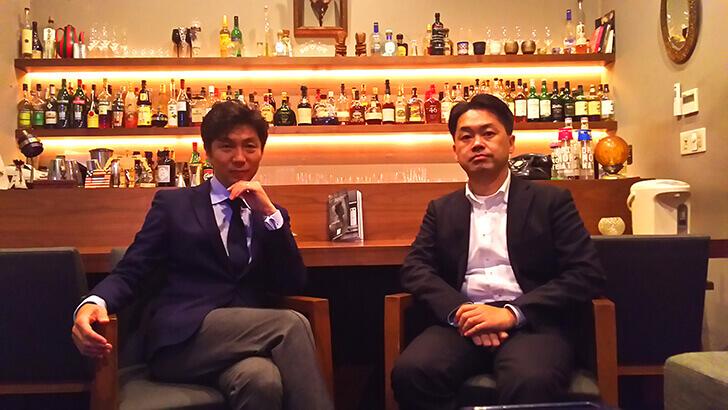 株式会社DHE柳原さんとmoe浦本
