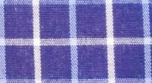 【青チェック】青色に水色と白のチェック柄