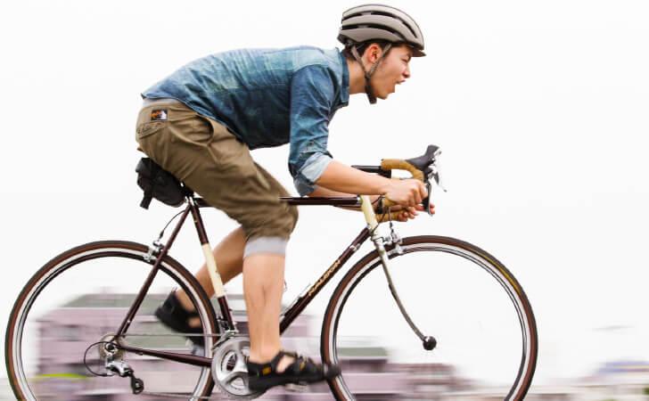 メッセンジャーバッグは自転車配達人のためのバッグ